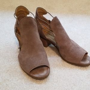 Lucky suede booties
